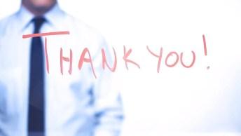 Mensagem De Final De Semana Para Clientes - Agradecemos Por Tudo!
