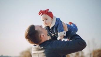 Mensagem Incrível Dia Dos Pais - Ser Pai É Cuidar Com Carinho!