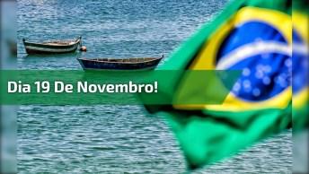 Mensagem Para O Dia Da Bandeira Do Brasil. Dia 19 De Novembro!