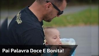 Mensagem Para O Dia Dos Pais Para Facebook - Pai Palavra Doce E Bonita!