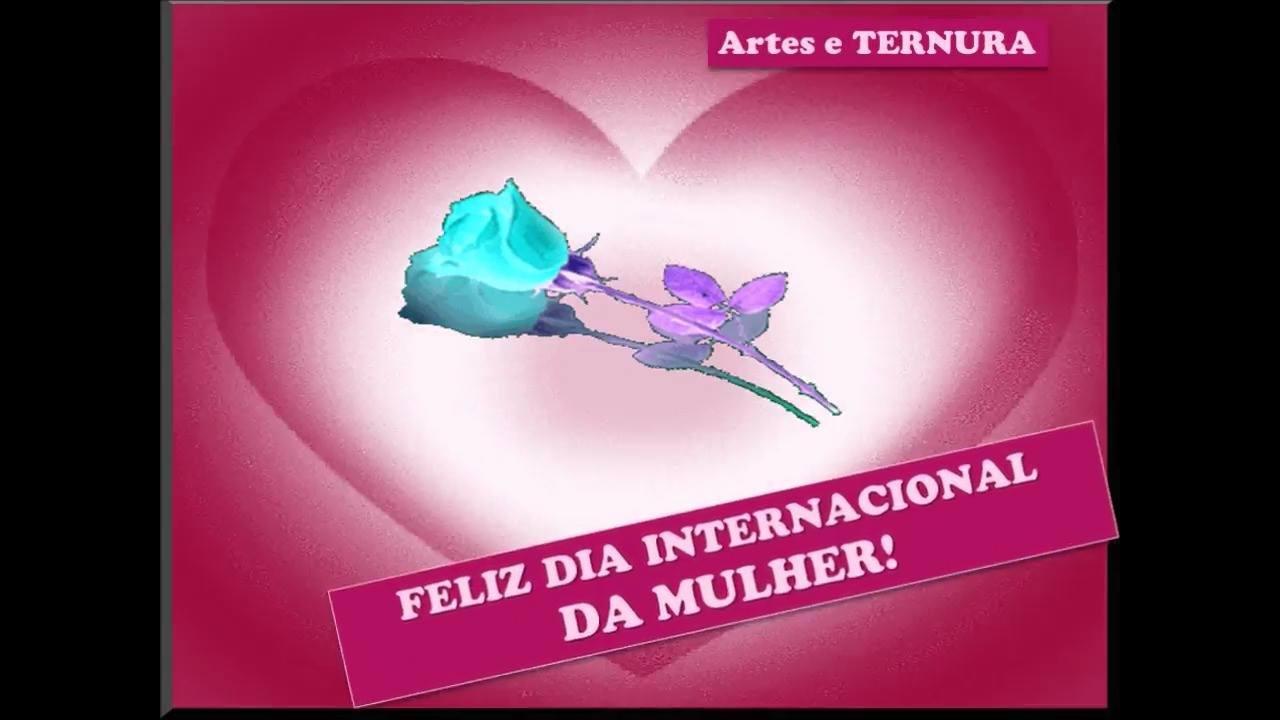Mensagem para o dia internacional da mulher, para Whatsapp!!!
