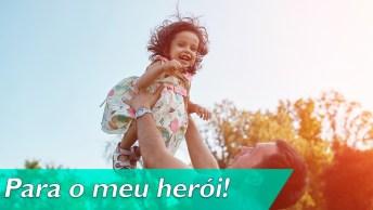 Pai, Um Herói Disfarçado De Homem Para Os Filhos!