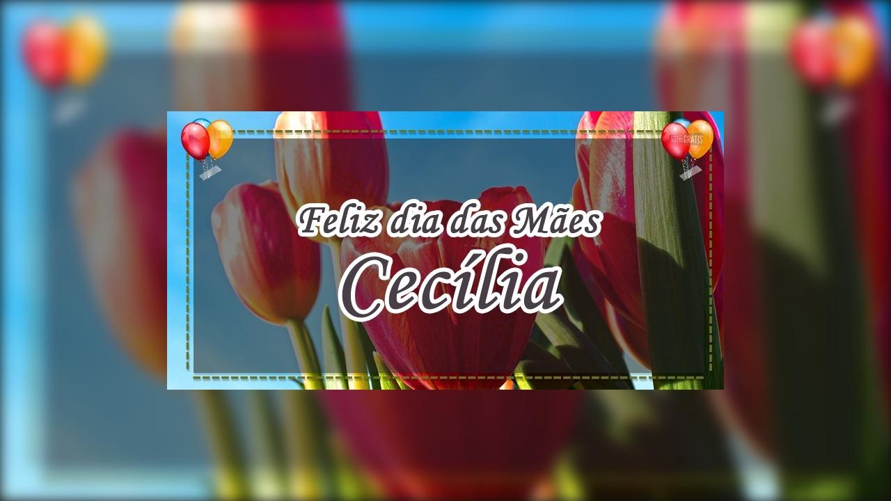 Para você, minha mãe Cecília