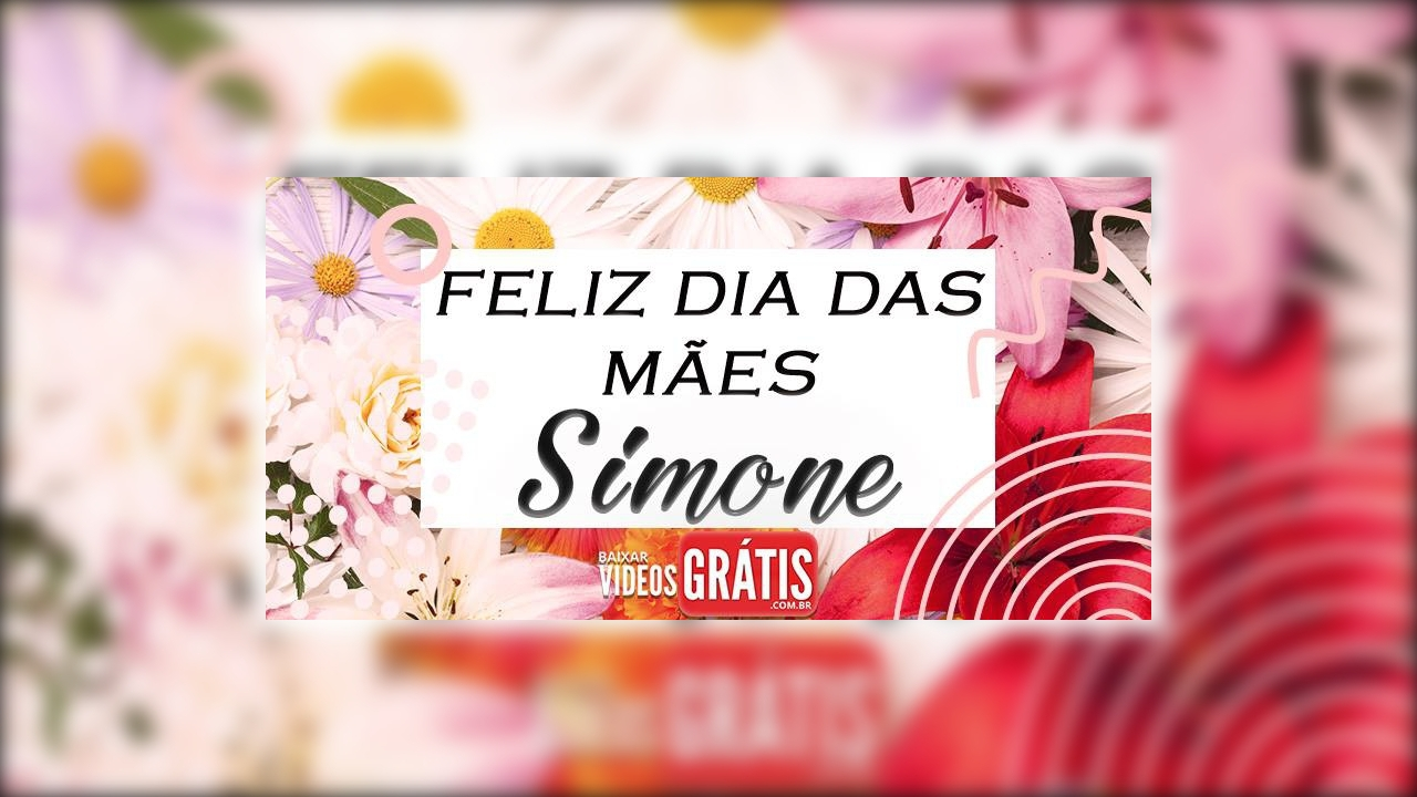 Simone, você merece um feliz dia das mães especial!
