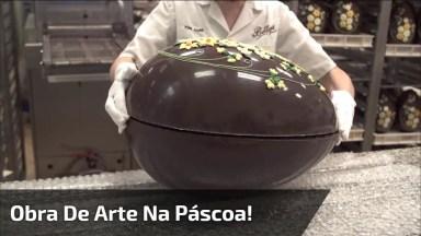 Uma Das Mais Belas Artes Que Já Vi De Ovo De Páscoa! Quero Um Desses!