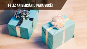 Aniversário, Dia De Viver, Realizar Sonhos E Ser Feliz!
