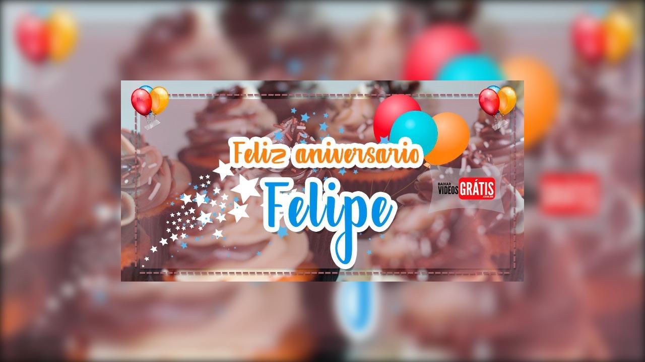 Feliz aniversário Felipe