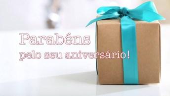 Feliz Aniversário, Que Seu Dia Seja Repleto De Felicidades! Seja Feliz Hoje!