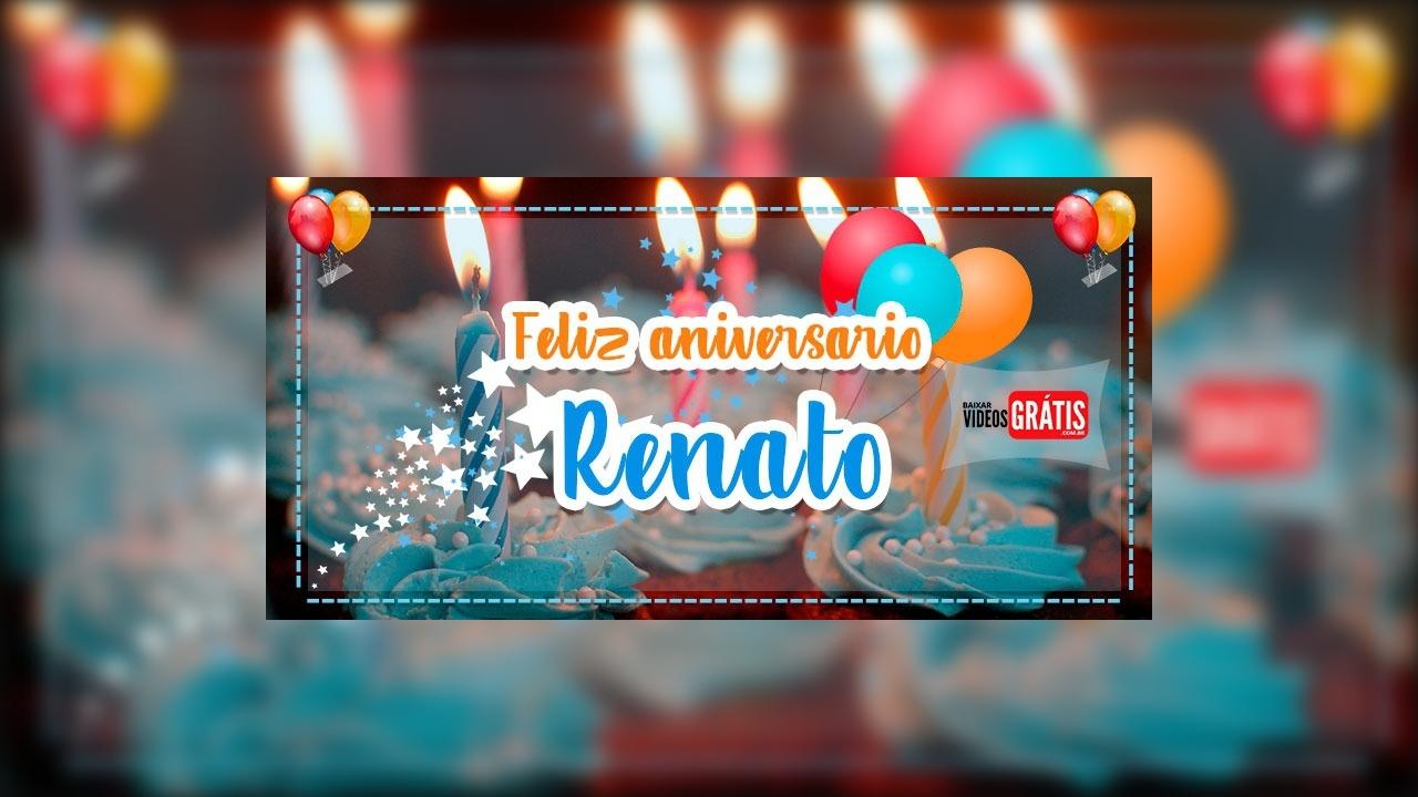 Feliz aniversário Renato