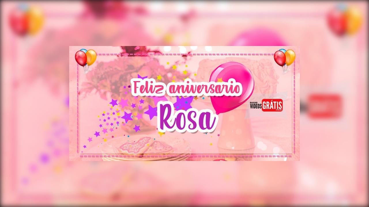 Feliz Aniversário Rosa