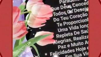 Imagens De Feliz Aniversário Para Facebook, Com Muita Paz E Muito Amor!