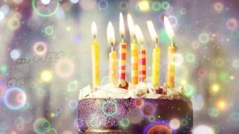 Mensagem De Aniversário Com Imagens De Bolo - Feliz Aniversário!