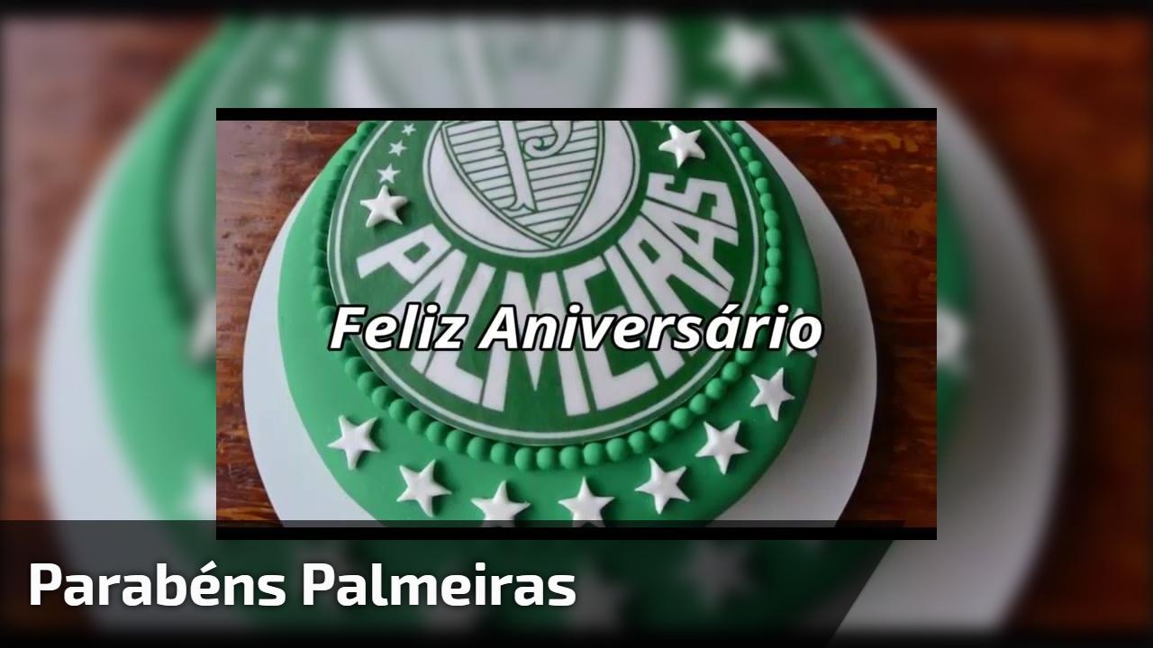 Parabéns Palmeiras