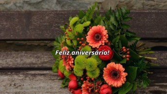 Mensagem De Aniversário Com Mensagem Especial, Para Alguém Especial!