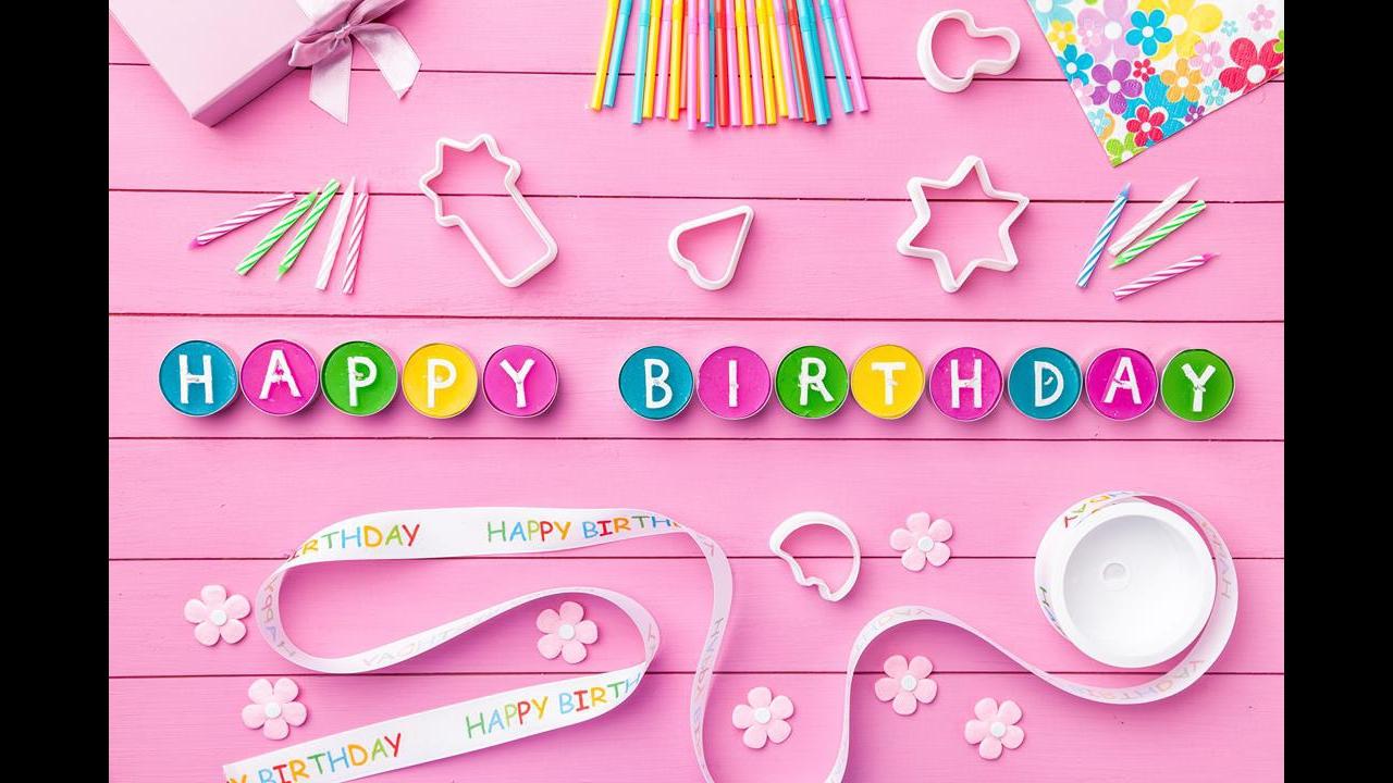 Mensagem de aniversário de pai pra filha - Curta seu dia com muita alegria!