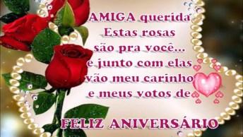 Mensagem De Aniversário Para Amiga, Envie Através Do Whatsapp!