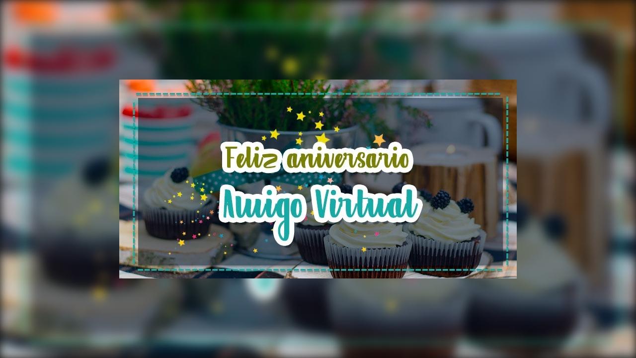 Mensagem de aniversario para amigo virtual