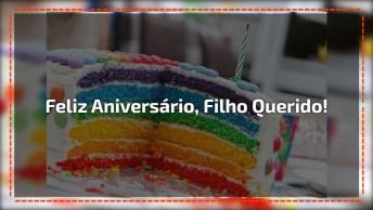 Mensagem De Aniversário Para Filho Querido, Compartilhe No Facebook!
