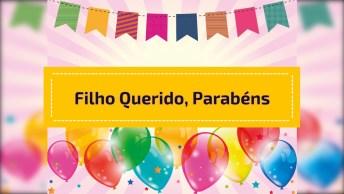 Mensagem De Aniversário Para Filho Querido, Ideal Para Facebook!