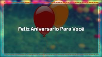 Mensagem De Aniversário, Que Todos Seus Sonhos Se Realizem!