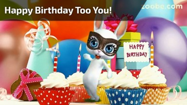 Mensagem De Feliz Aniversário Para Amiga! Happy Birthday Too You!