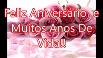 Mensagem De Feliz Aniversario Para Amiga! Que Deus Continue Te Abençoando!