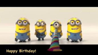 Mensagem De Feliz Aniversario Para Amigo Ou Amiga Especial Com Minions!