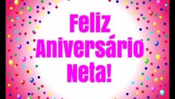 Mensagem De Feliz Aniversário Para Neta Querida, Felicidades Sempre!