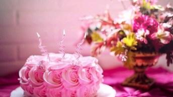 Mensagem De Feliz Aniversário. Parabéns Pela Nova Etapa De Sua Vida!
