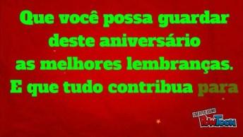Mensagem Linda De Aniversário Para Amiga, Envie Pelo Whatsapp!