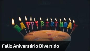 Para Desejar Feliz Aniversário Divertido Para Seus Amigos E Amigas!