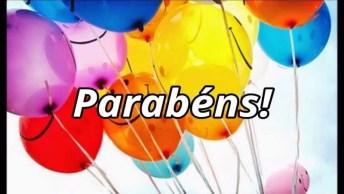 Parabéns Para Facebook, Que Seja Um Dia De Muita Paz, Amor E Saúde!