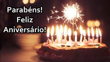 Uma Linda Tele Mensagem Com Voz Feminina De Feliz Aniversário Espirita!