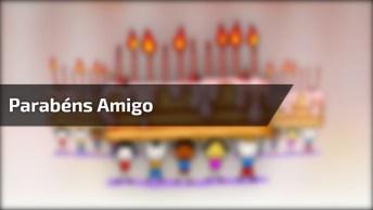 Vídeo Com Mensagem De Aniversário Para Amigos E Amigas Do Facebook!