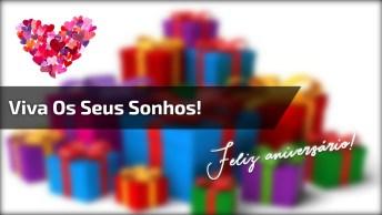 Video Com Mensagem De Aniversário Para Facebook, Compartilhe!