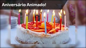 Vídeo De Aniversário Animado, Para Enviar Pelo Whatsapp Neste Dia Especial!