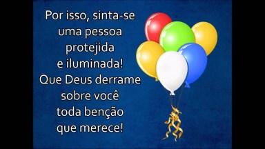 Vídeo De Aniversário Evangélico Para Amigo Ou Amiga! Parabéns Pelo Seu Dia!