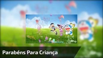 Vídeo Para Desejar Feliz Aniversário Fofinho, Perfeito Para Crianças!