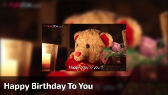 Video With Teddy Bear Singing Birthday Music, Check It Out!