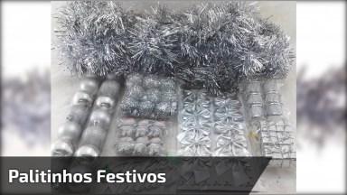 Aprenda A Fazer Palitinhos Festivos Para Festas E Eventos Especiais!