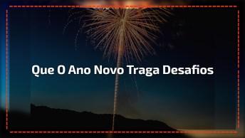 Boa Noite Para Ano Novo. Que Seu Novo Ano Brilhe Como A Luz Do Luar!