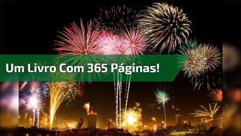 Mensagem De Ano Novo 2018 - Amanhã Começa Um Novo Livro Com 365 Páginas!