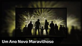 Mensagem De Ano Novo Diferente. Desejo Tudo De Melhor Para Você!
