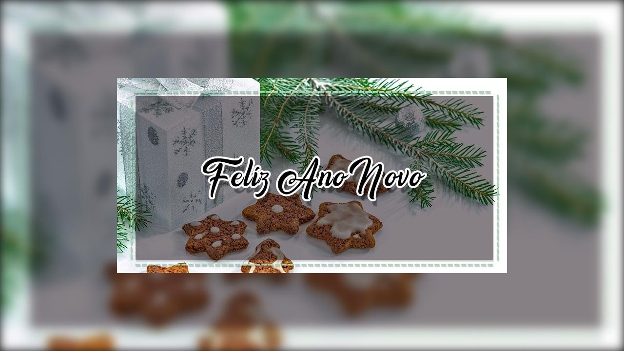 Mensagem de Ano Novo evangélica.