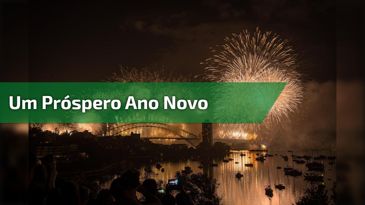 Um próspero Ano Novo