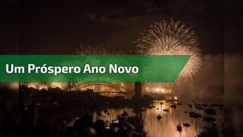 Mensagem De Ano Novo Para Amigos! Um Próspero Ano Novo Cheio De Amor E Paz!