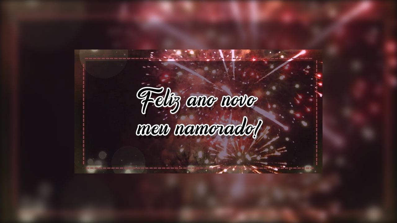 Mensagem de ano novo para namorado