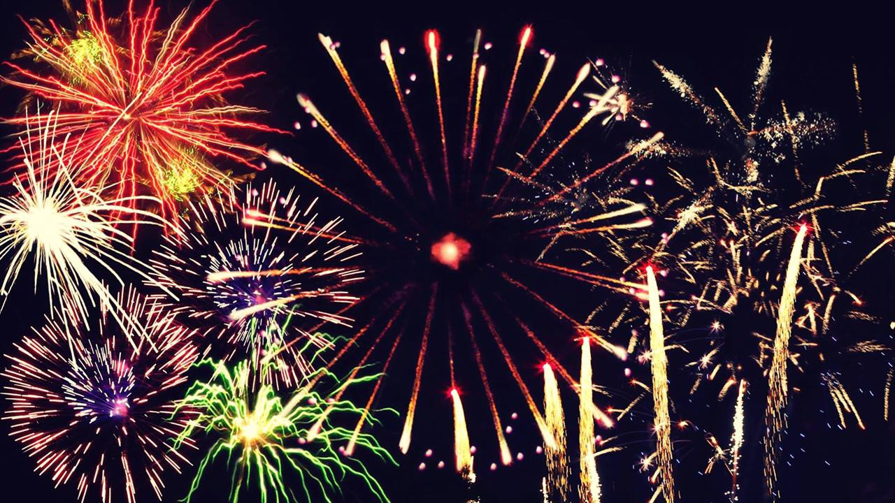 Mensagem de Feliz Ano Novo, adeus ano velho