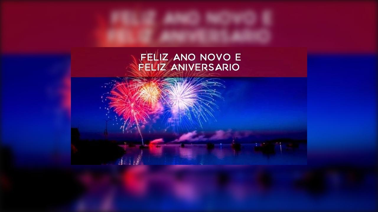 Mensagem De Feliz Ano Novo Para Tio Que Deus Abençoe Toda: Mensagem De Feliz Ano Novo E Feliz Aniversário, Deus