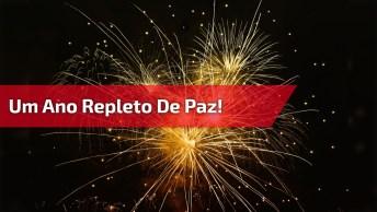 Mensagem De Feliz Ano Novo Para Amigos! Desejo A Você Um Ano Repleto De Paz!